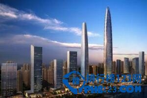 济南最高楼:济南绿地中心(高300米/占地5.9万平方米)