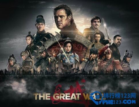 张艺谋《长城》电影票房预测,国内票房预计10亿