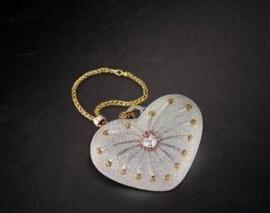 世界上最贵的包包,一千零一夜钻石包镶有4517颗钻石(380万美元)