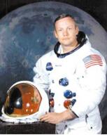 世界上第一个登上月球的人,美国宇航员阿姆斯特朗(被称为骗局)