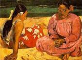 世界上十大最贵的画:保罗高更《两个塔希提妇女》价值3亿美元