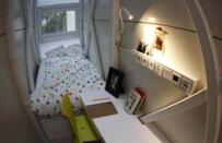 世界上最小的公寓,面积仅有8.3平方米(相当于一个厕所)