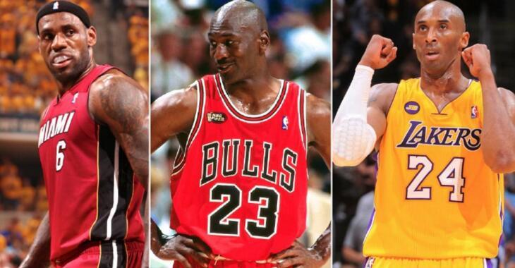 NBA历史球员效率值榜:乔丹领跑,詹姆斯紧随其后