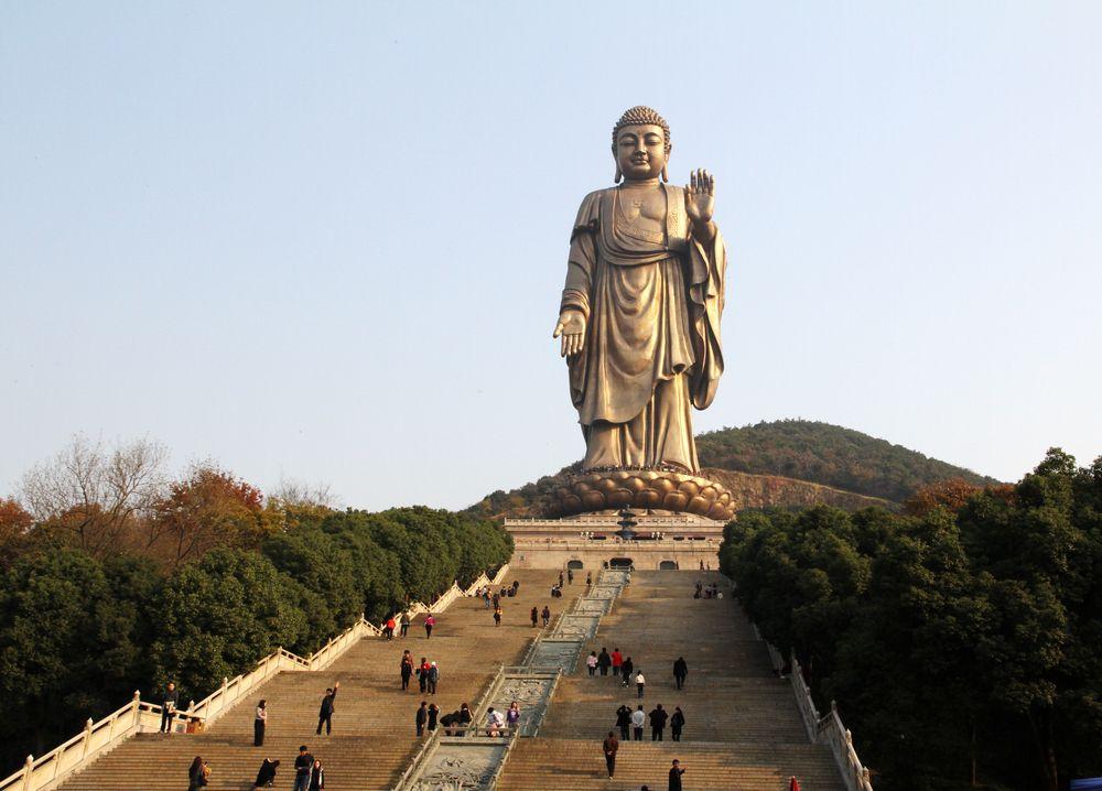 世界上最高的佛像在中国,中原大佛耗资12亿人民币