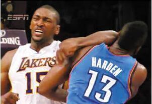 NBA历史十大恶犯:锁喉肘击太常见,拳击动作险些废人