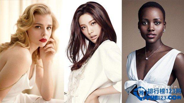 2014年度全球百大最美脸蛋排行榜
