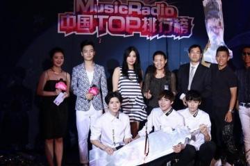 2014年musicradio中国top排行榜入围名单