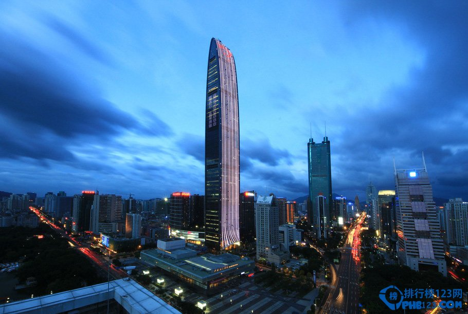 中国十大高楼排行榜 你知道最高大楼多高吗?
