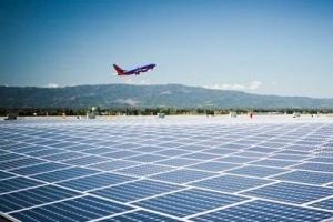世界上最干净清洁的机场 100%太阳能供电