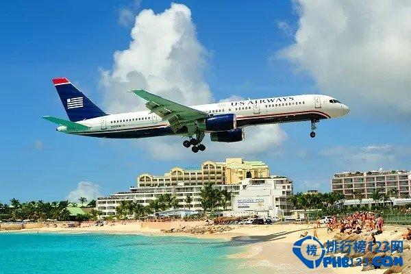 加勒比海圣马丁岛机场