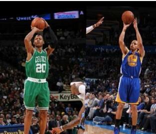 NBA历史三分榜排名【每日更新】库里排名15命中1727个