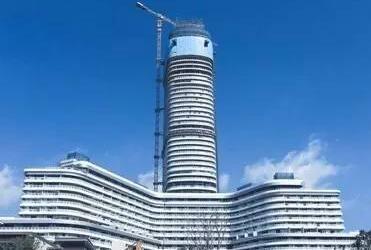 三亚第一高楼 高211米造价15亿
