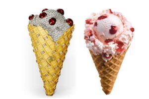 世界上最贵的冰淇淋,价值677万人民币的甜筒