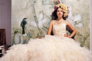 世界上最贵的婚纱,中东皇后婚纱(价值6500万元人民币)