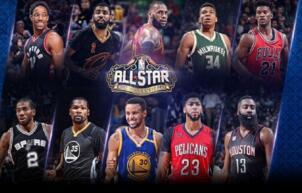2017NBA全明星首发名单正式公布 NBA全明星东西部首发阵容