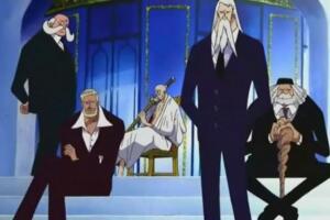 海贼王五老星的真实身份与实力,实力或强于天龙人