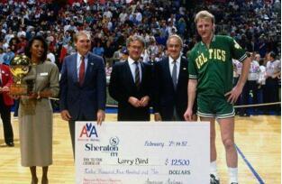 历届NBA全明星三分球大赛冠军 大鸟伯德三连冠历史第一人
