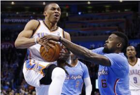 NBA场均失误排行榜:威少魔术师并列历史第一(场均3.9次)