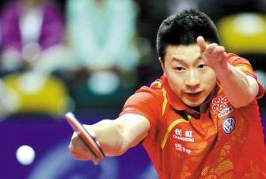 国际乒联最新排名:马龙丁宁分列男女第一(2017年4月)