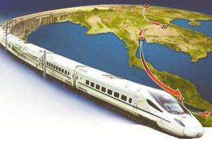 世界上最长的高铁,中美洲际高铁(1.3万千米/350km/h)