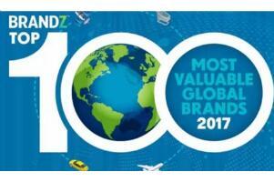 2017全球品牌价值排行榜,谷歌力压苹果全球第一(腾讯第八)