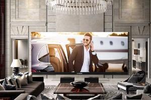 世界上最大的4K宽屏电视机,美国造出最大电视(262寸/0.8吨)