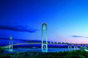 世界上跨度最大的双层悬索桥:武汉杨泗港长江大桥(双层双向10车道)