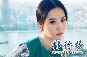 女明星微博粉丝排行榜,谢娜粉丝量远超神仙姐姐刘亦菲