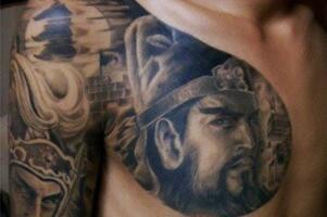 纹身关公的忌讳和讲究,随便乱纹可能害死自己