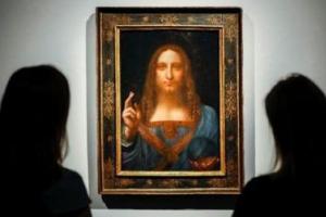 世界上拍卖最贵的画:男版蒙娜丽莎 30亿元被买走