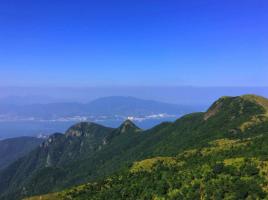 深圳十大名山排名榜:翠竹山上榜,第五也是深圳最大瀑布所在地