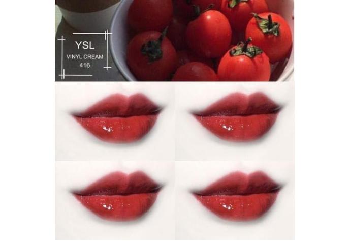 番茄色口红排行榜 阿玛尼405人气最高,YSL416元气又百搭