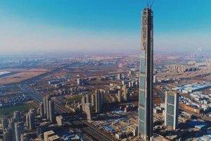 天津十大高楼排行榜:天塔旋云上榜,第一高达596.5米