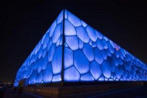 中国十大著名体育馆,水立方上榜,第二被称为海上王冠